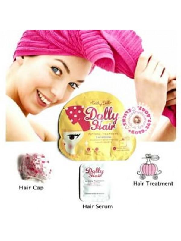 Спа-уход для волос 3 в 1. Маска+сыворотка+шапочка. Cathy Doll Perfume Treatment 3 in 1 Booster. - 1