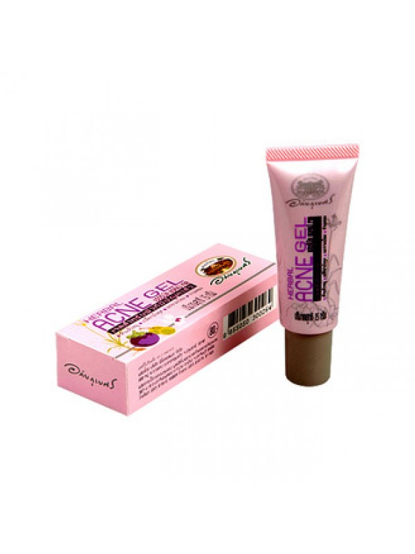 Точечный гель от акне с экстрактами лечебных растений. Abhaibhubejhn herbal acne gel. - 1