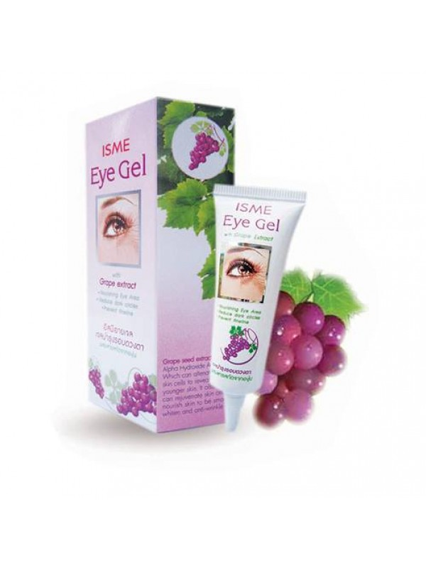 Крем-гель для век с экстрактом винограда. Isme Eye Gel Grape Extract.