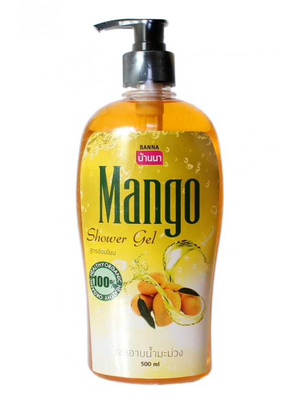 Крем-гель для душа с экстрактом манго. Banna Mango Shower Gel.